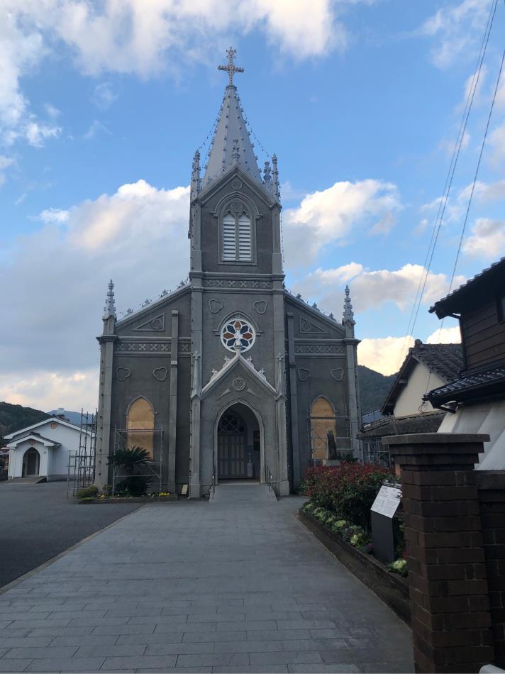 久々のキリシタン館とガイド付き崎津集落