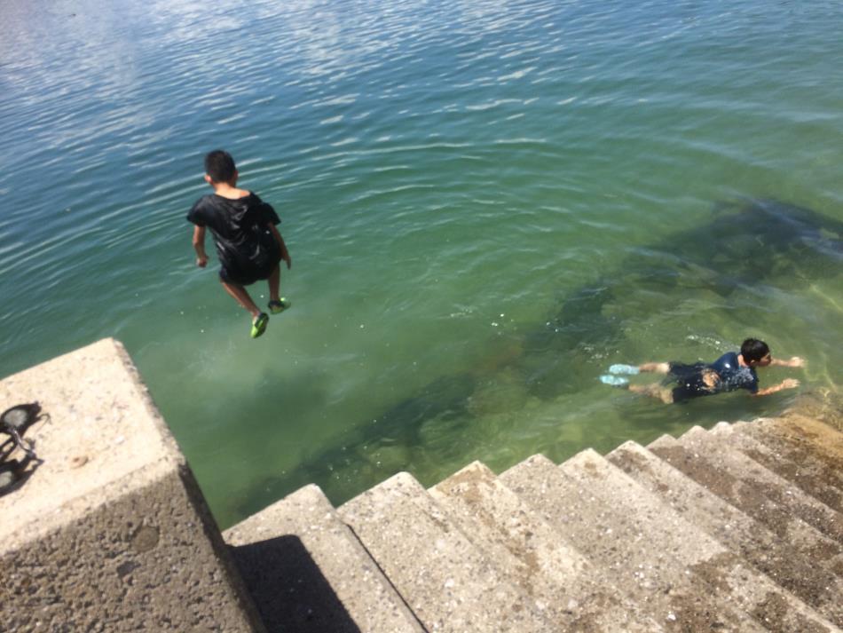 鳴子海水浴場