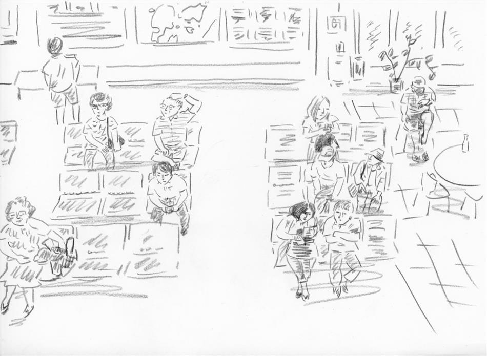 69位㉒ 天草空港の待合室