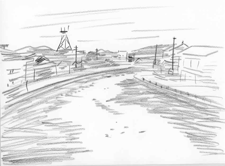 69位㉔ 祇園橋の先からみた川