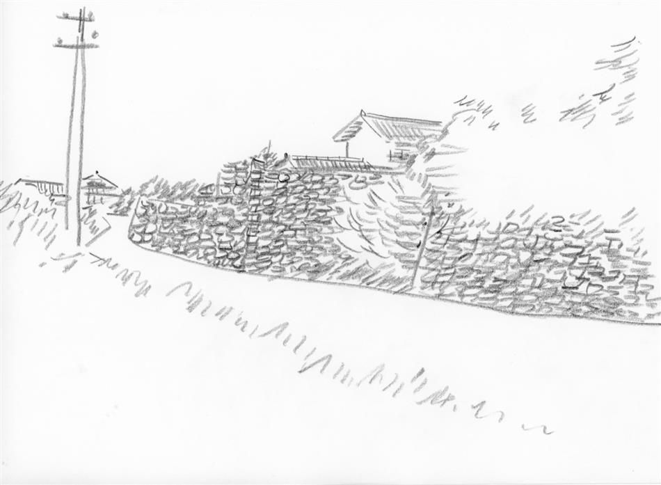 69位⑮ 棚底の街並(石垣)