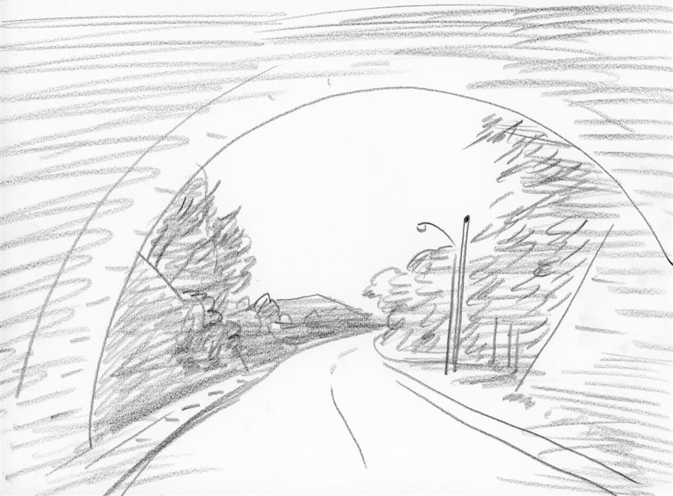 69位⑩ ?どこかのトンネル