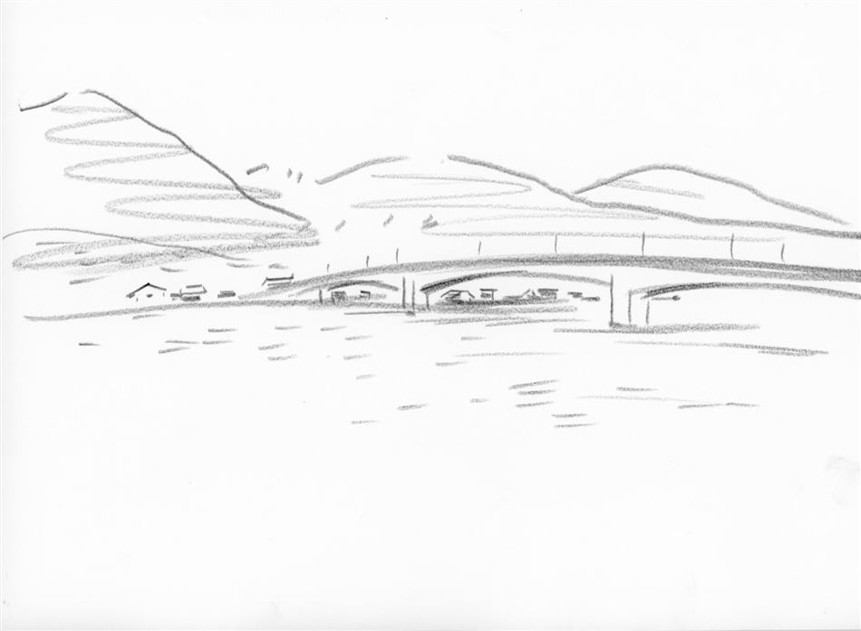 69位⑰ 御所浦の橋(海上タクシーから)