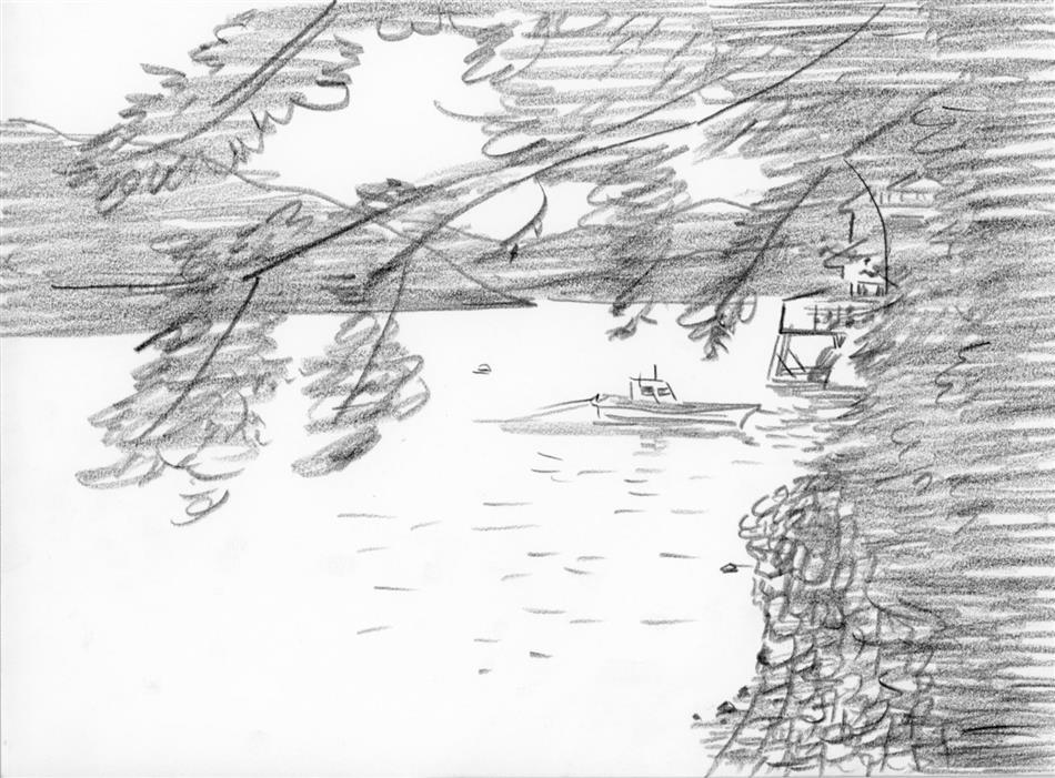 69位⑭ 崎津の海