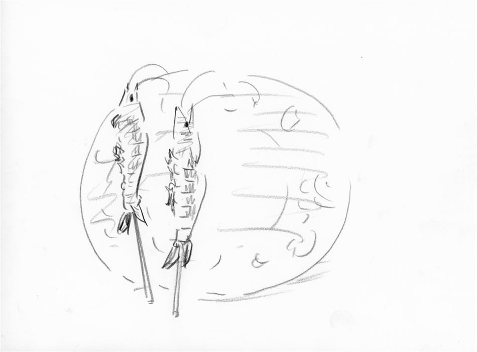 38位⑪ えび(串焼き)
