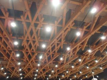 天草市庁舎屋根トラス