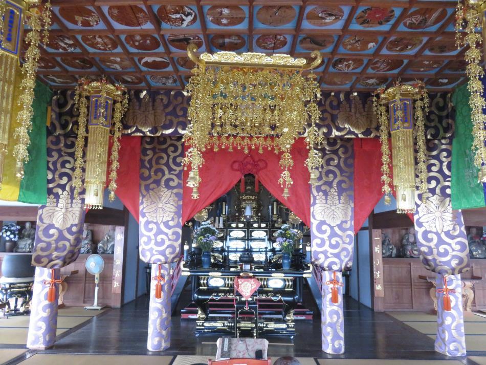 観音寺城法堂