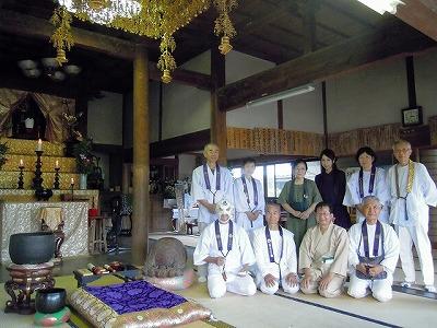 歩き 東明寺