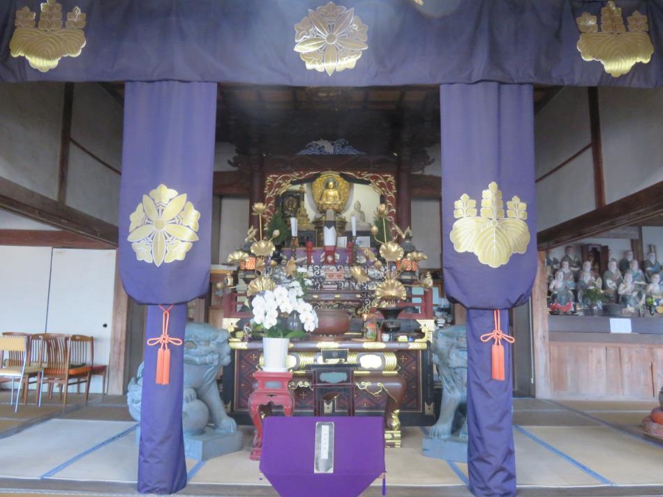 高雲寺法堂
