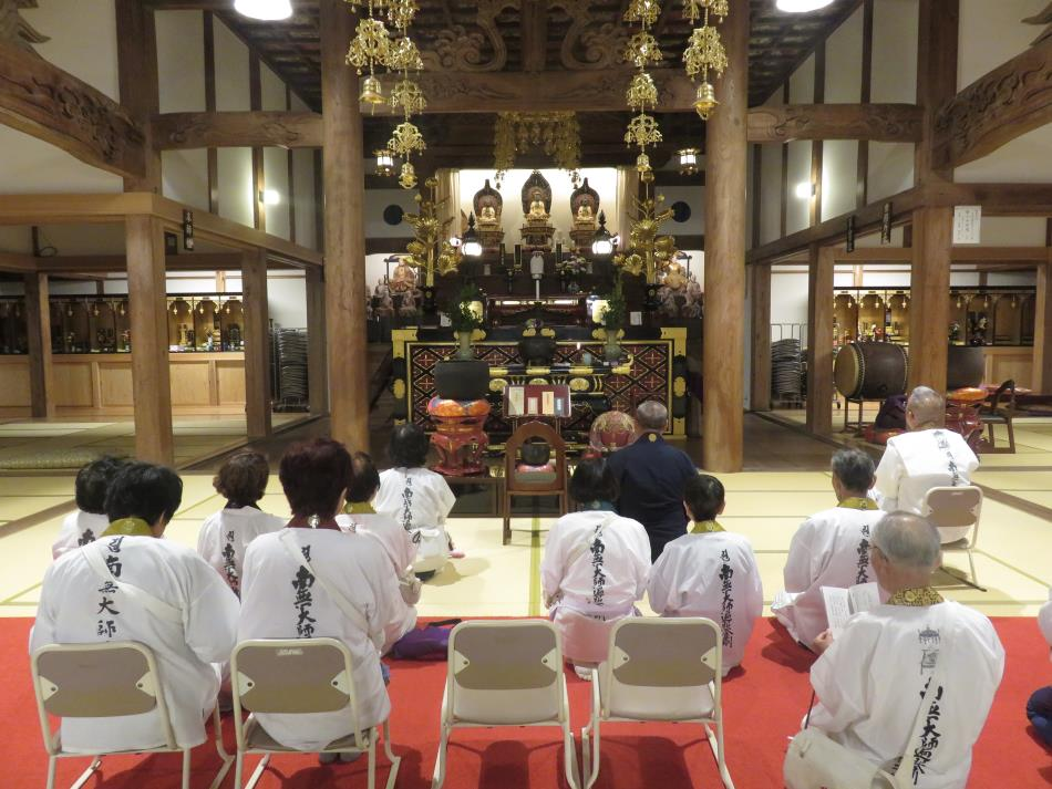 東向寺巡拝