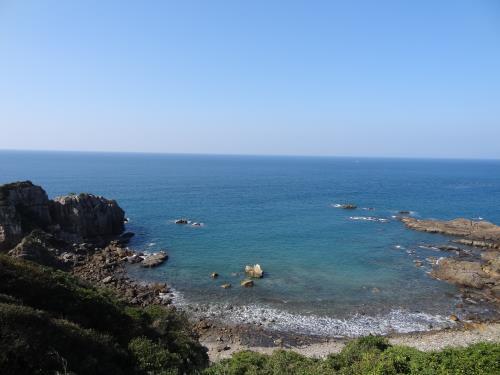 きかいが浦の地層と景観