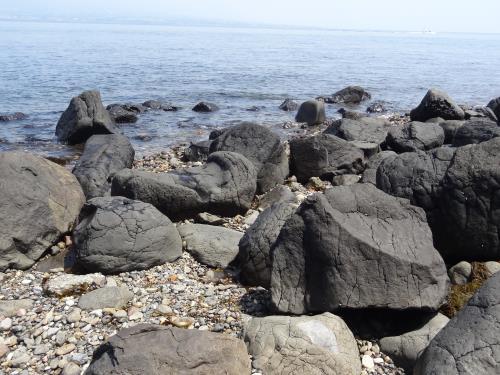 ゆしまの玄武岩