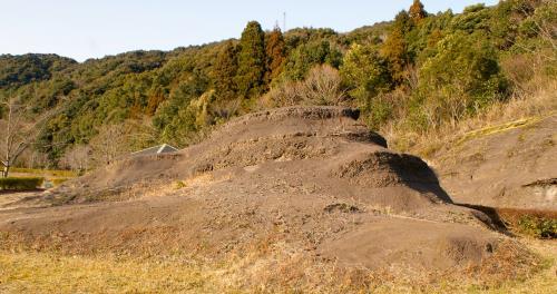 きょうらぎ層のこくしょく泥岩