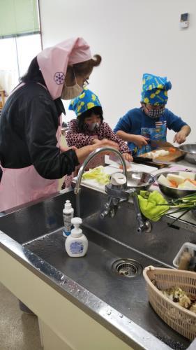 本渡分会 北地区料理教室報告1