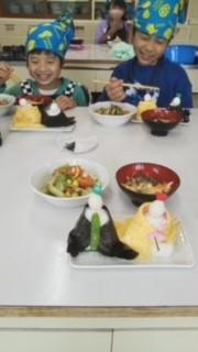 北地区小学生料理教室風景120210313