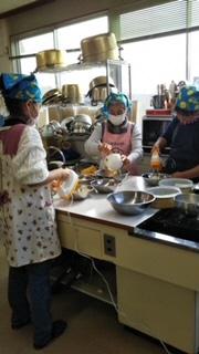 本渡北地区小学生料理実習画像2