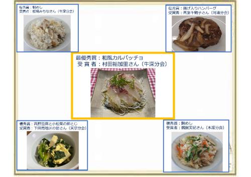 減塩レシピコンテスト入選作品