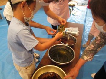 食改東地区(栖本分会・有明分会)おやこ料理教室報告