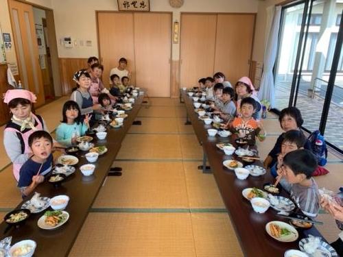 新和部会 保育園料理教室3