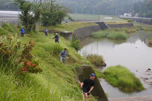 20190602河川清掃1