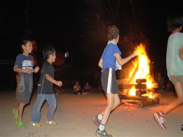 キャンプ炎60