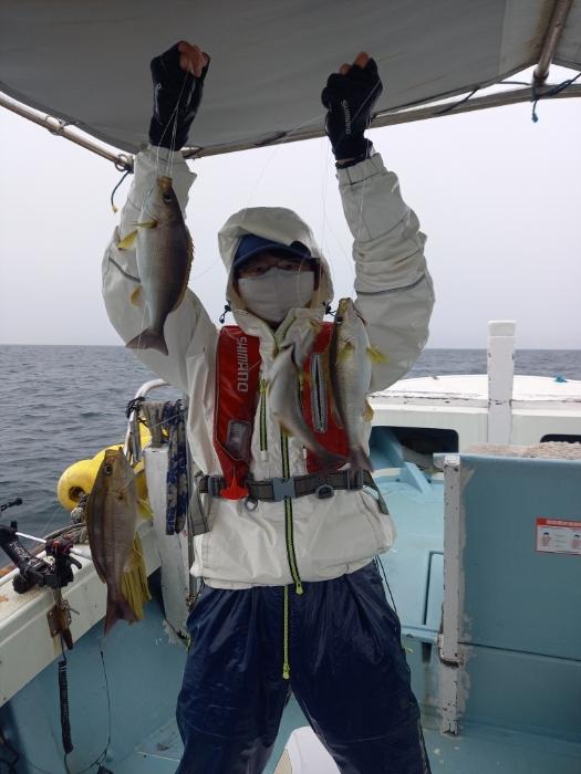 オキアミ五目釣り