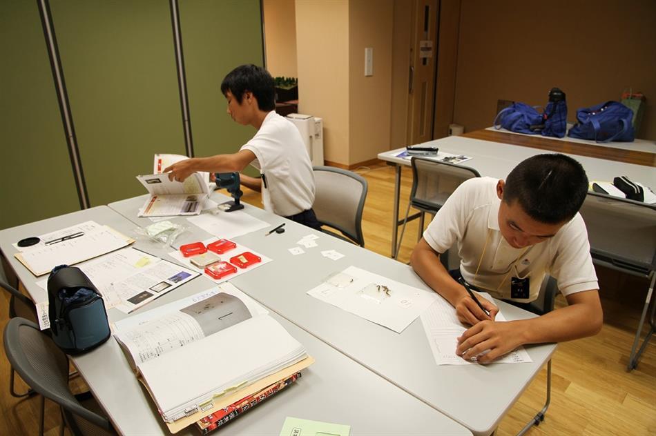 本渡東中学校職場体験 1