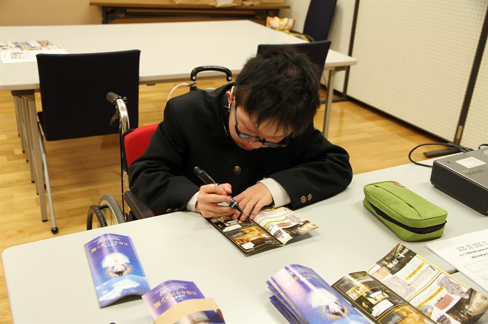 本渡中学校職場体験 2