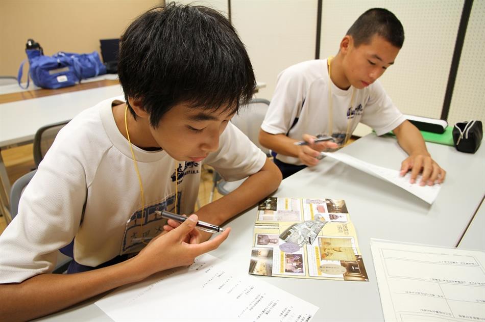 本渡東中学校職場体験 8