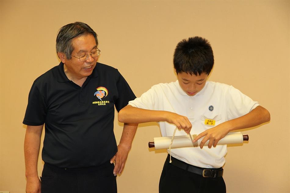 本渡中学校職場体験 4