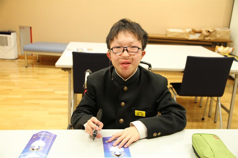 本渡中学校職場体験 1
