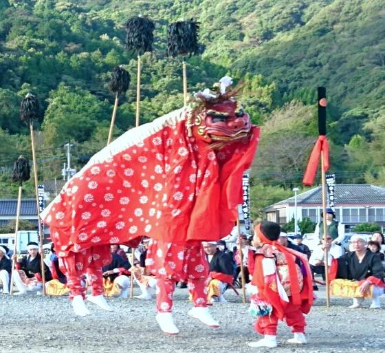 宮野河内地区振興会 獅子舞