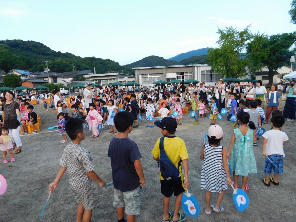 浦和保育所盆踊り