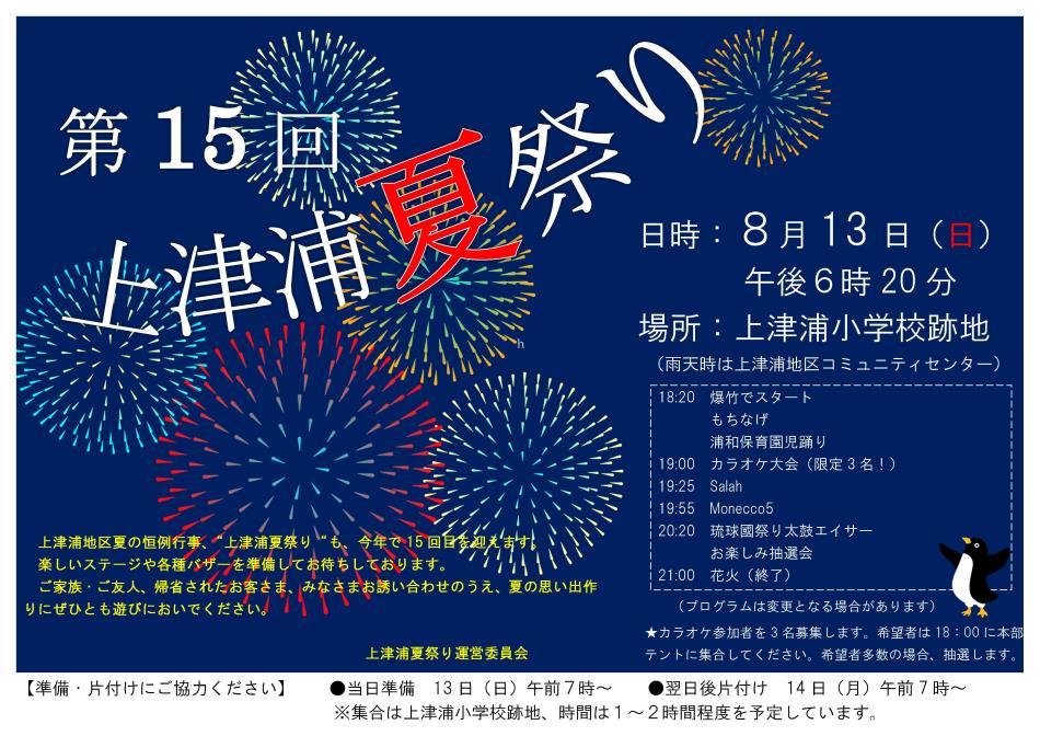夏祭りポスター